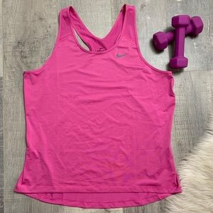 Nike Dri-Fit Pink workout Tank Top